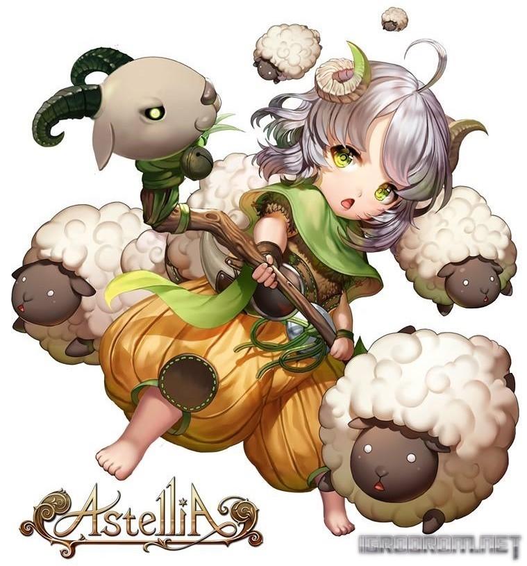 Кудрявая овечка Молли 2886