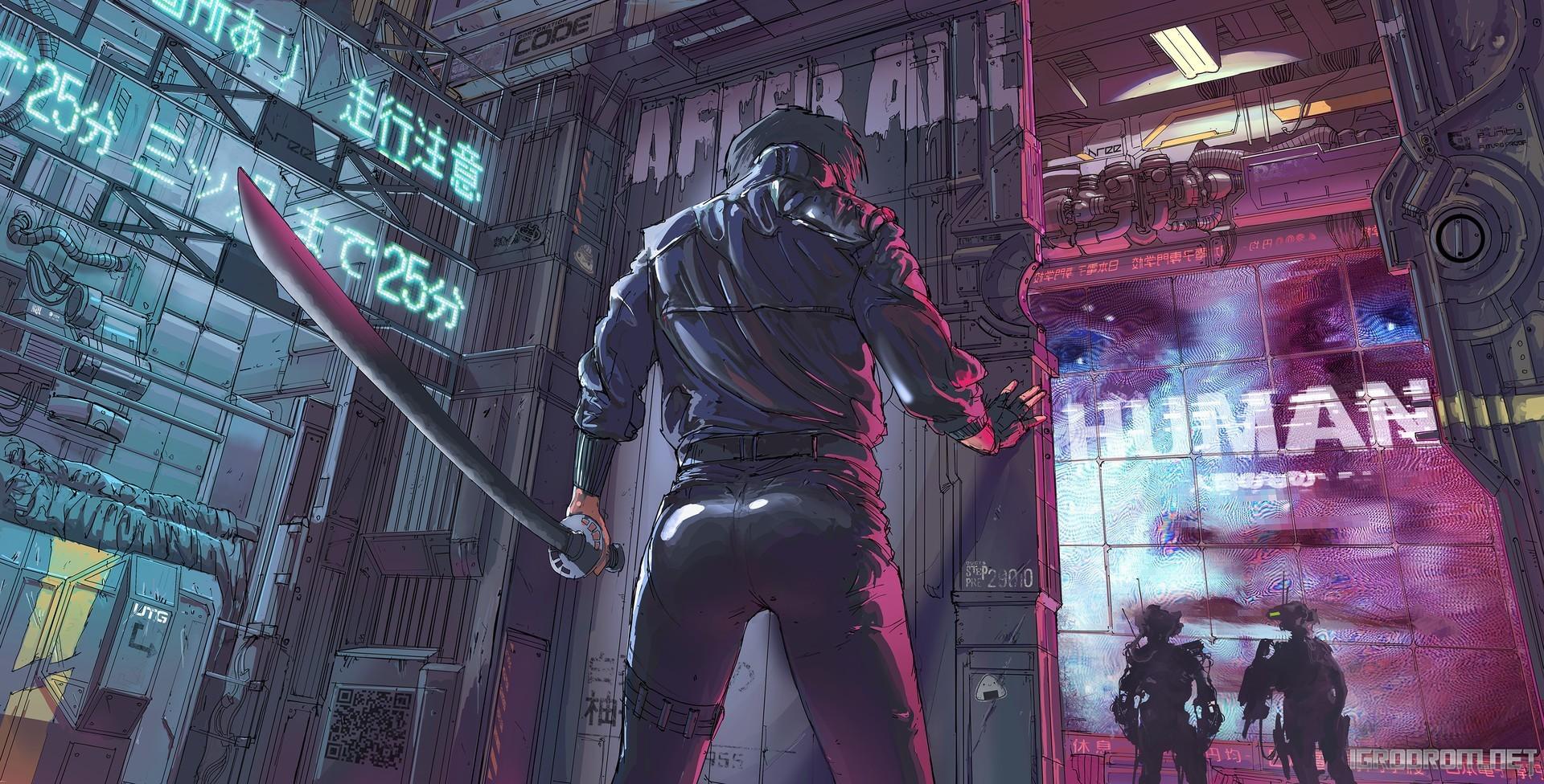 Концепт-арты Cyberpunk 2077 140