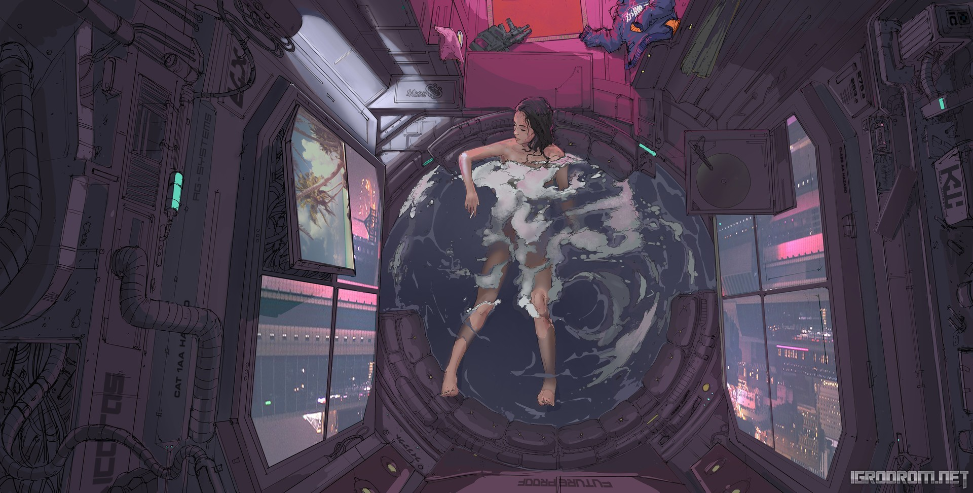 Концепт-арты Cyberpunk 2077 141