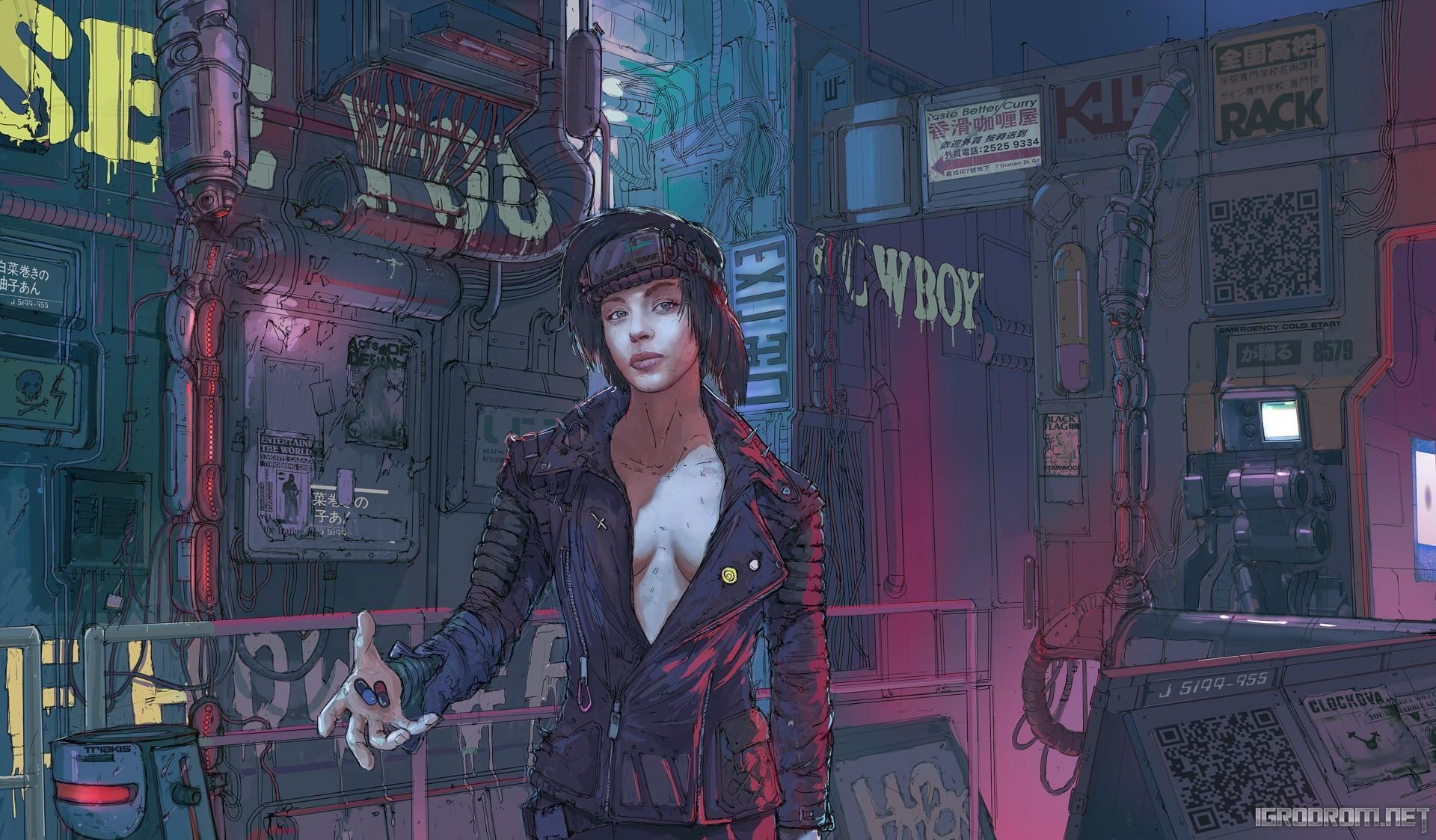 Концепт-арты Cyberpunk 2077 142