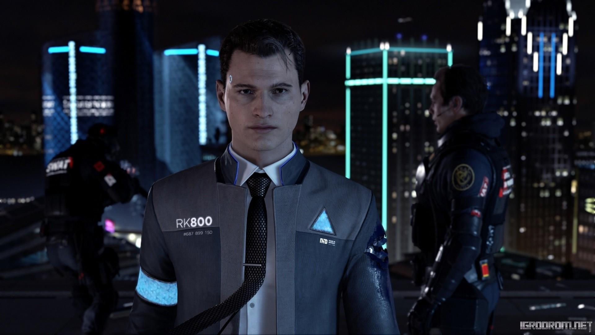 Андроид-детектив Коннор 521