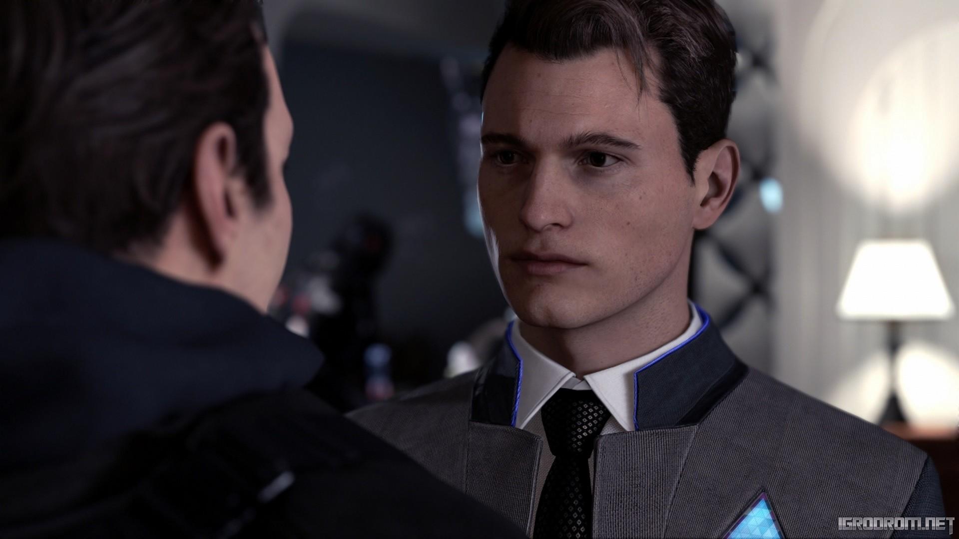 Андроид-детектив Коннор 523