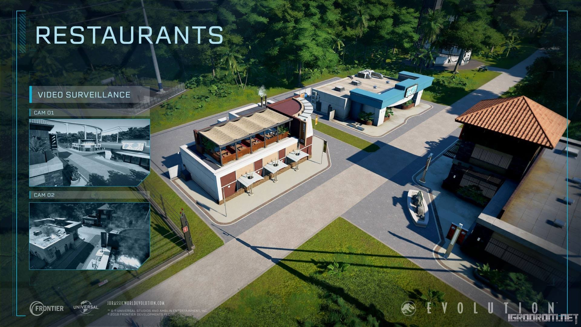 Магазины, рестораны, гостиницы и инновационный центр 1809