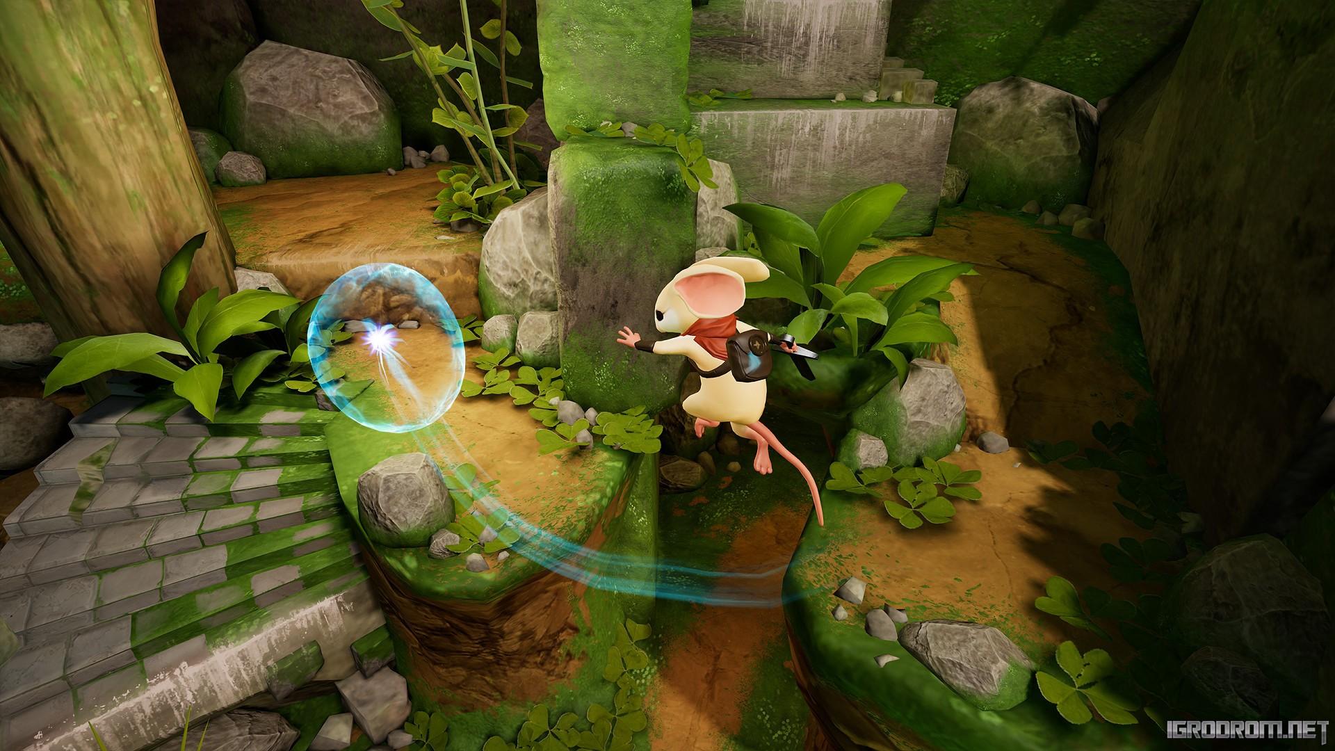 В Steam состоялась премьера Moss 2491