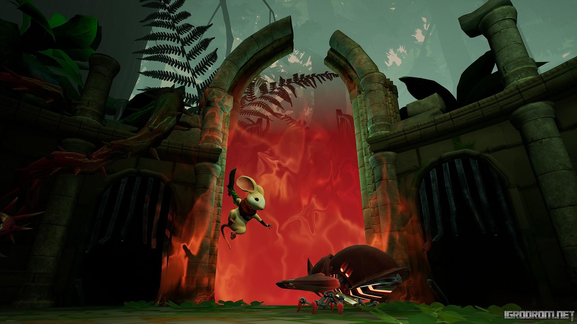 В Steam состоялась премьера Moss 2493