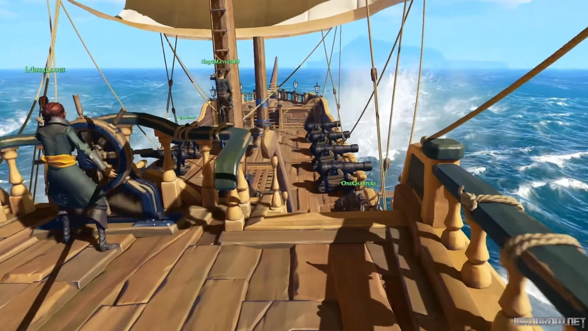 Новые изображения игрового мира Sea of Thieves 221