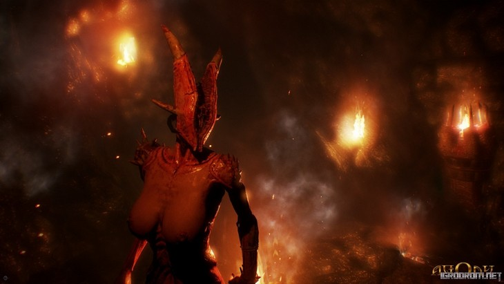 Скриншоты игры Agony 1