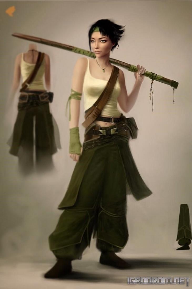 Концепты персонажей игры 2008 3