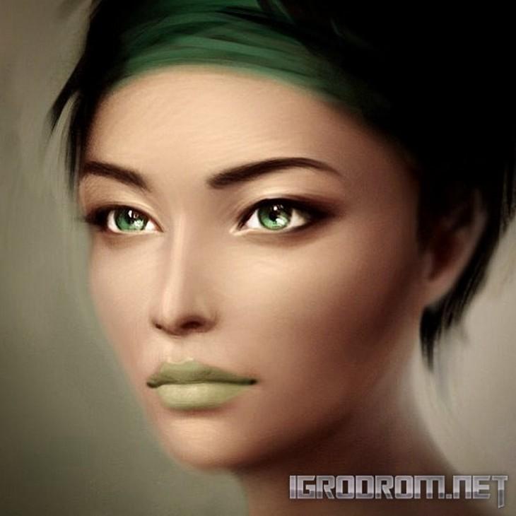 Концепты персонажей игры 2008 2