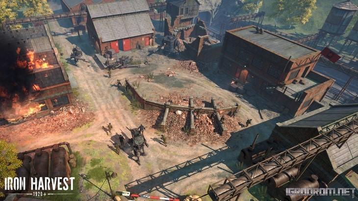 Скриншоты Iron Harvest