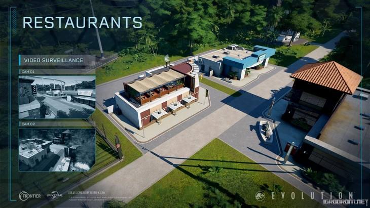 Магазины, рестораны, гостиницы и инновационный центр