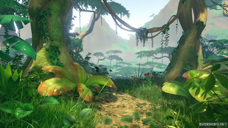 Первые снимки игрового мира Lost Ember
