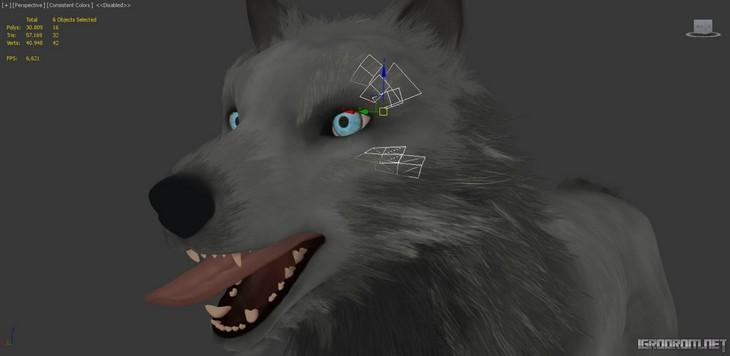 Создание изображения волка 2