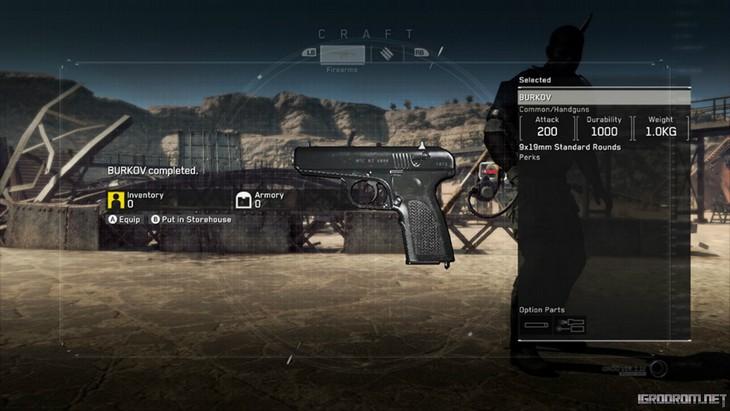 Ремесла Metal Gear Survive 3