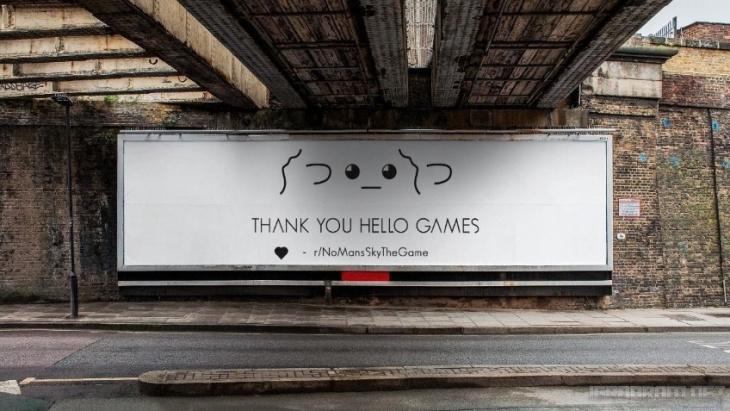 Фанаты No Man's Sky оригинально поблагодарили разработчиков игры