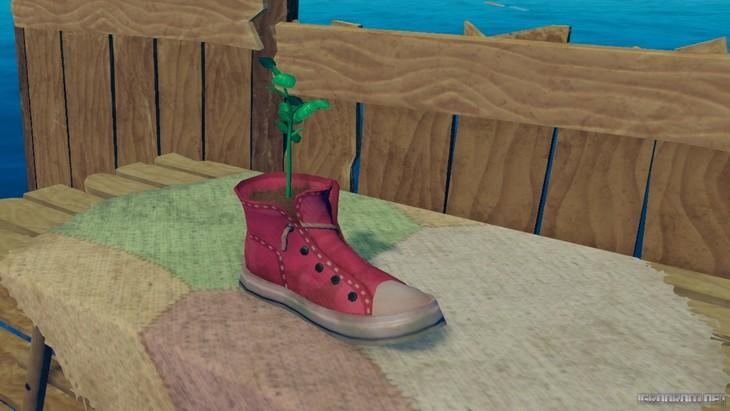 Нестандартный способ использования вещей: обувь как горшок для растений