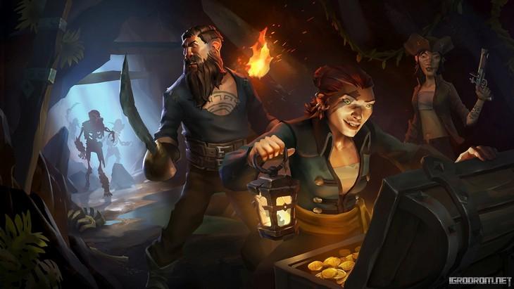 Новые изображения игрового мира Sea of Thieves