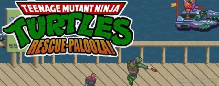 Teenage Mutant Ninja Turtles: Rescue-Palooza!