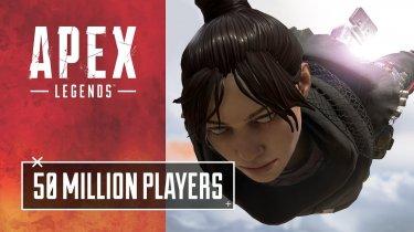 Apex Legends насчитывает 50 миллионов игроков