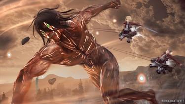 Attack on Titan 2: Дружеская поддержка в бою 1
