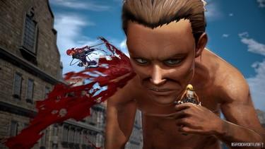 Attack on Titan 2: Дружеская поддержка в бою 2