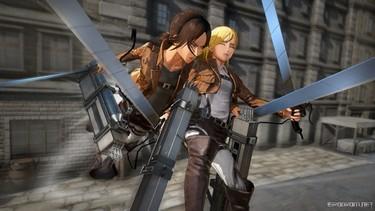 Attack on Titan 2: Дружеская поддержка в бою 3