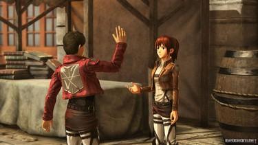 Attack on Titan 2: Настройка формы тела, прически, индивидуальных особенностей, одежды и голоса 2