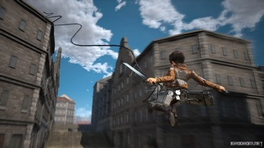 Attack on Titan 2: Персонаж Эрен в бою 2