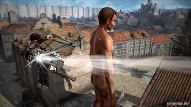 Attack on Titan 2: Персонаж Эрен в бою 3