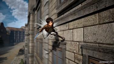 Attack on Titan 2: Персонаж Эрен в бою 5