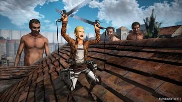 Attack on Titan 2: Знакомьтесь с Thomas Wagner, Mina Carolina, Nile Dawk, Marlo и Hitch 1