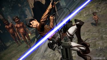 Attack on Titan 2: Новая тройка персонажей 2