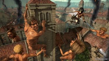 Attack on Titan 2: Изображение игрового процесса 6
