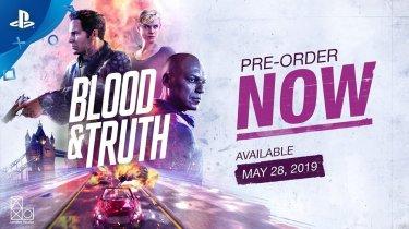 Впечатляющий ТВ-ролик эксклюзивного боевика PS VR – Blood & Truth