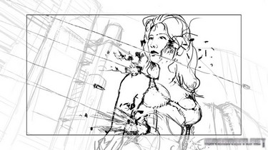 Cyberpunk 2077: Концепты тизер-трейлера 1