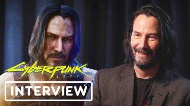 Кіану Рівз розповів про роботу над Cyberpunk 2077