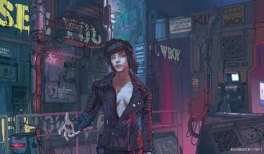 Cyberpunk 2077: Концепт-арты 3