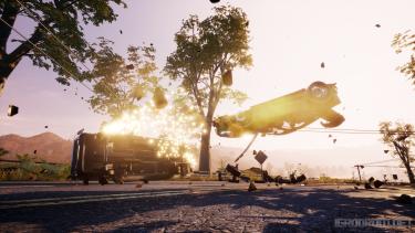 Dangerous Driving выйдет только в магазине Epic Games