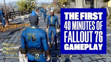 Fallout 76: 40 минут геймплея
