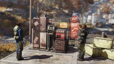 Пользовательские торговые автоматы в Fallout 76 обложили налогом