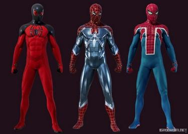 Три костюма из дополнения The Heist 3731