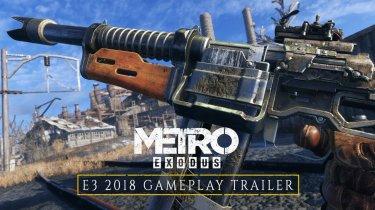 Metro Exodus: Геймплейный трейлер с E3 2018 и дата выхода