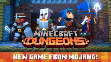 Minecraft: Dungeons: Анонс гри