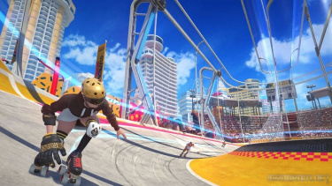 Трейлер новой спортивной соревновательной игры Roller Champions