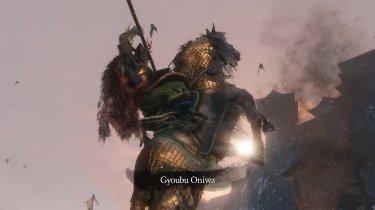 Еще один босс игры Sekiro: Shadows Die Twice – Гебу Масатака Онива