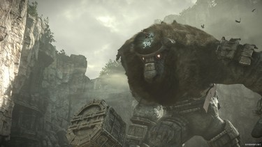 Shadow of the Colossus (2018): Скриншоты с трейлера 1