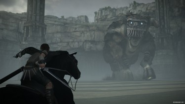 Shadow of the Colossus (2018): Скриншоты с трейлера 2