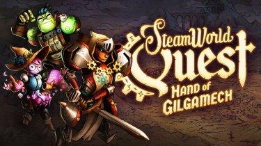 Премьерный трейлер карточной RPG SteamWorld Quest: Hand of Gilgamech