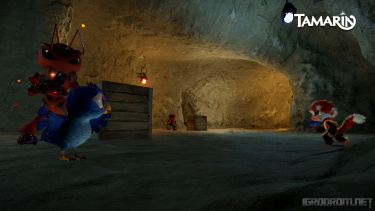 Tamarin – приключенческий экшен про вооруженную обезьянку