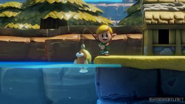 Геймплей и трейлер ремейка The Legend of Zelda: Link's Awakening